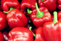 Bundel van Spaanse pepers stock afbeeldingen