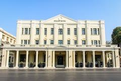 Bundelhotel op bundelweg, Yangon, Myanmar Meer dan 100 jaar oud Februari-2018 Royalty-vrije Stock Fotografie