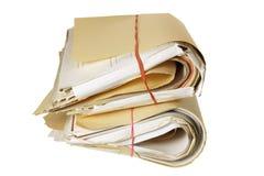 Bundels van Documenten stock foto