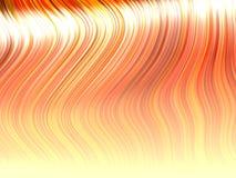 Bundels van oranje haar Stock Afbeeldingen