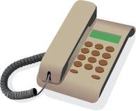 bunden klassisk telefon Royaltyfri Fotografi