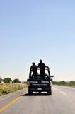 Bundes- Polizisten in Latein-Amerika Lizenzfreies Stockbild