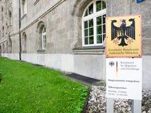 Bundesamt für Migration und Flüchtlinge munich Royalty Free Stock Photography