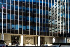 Bundesgebäude in Harrisburg PA Lizenzfreies Stockfoto