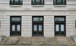 Bundesgebäude im See Charles Louisiana Stockfoto