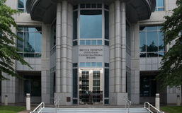 Bundesgebäude und Gericht in Reno Nevada Stockbilder