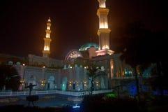 Bundesgebiet-Moschee bei Kuala Lumpur, Malaysia stockbild