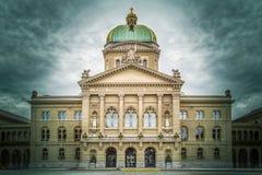 Bundeshaus, Berne, Suisse photographie stock libre de droits