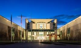 Bundeskanzleramt (федеральное - немецкое ведомство канцлера) Резиденция канцлера Германии стоковое фото