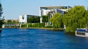Bundeskanzleramt in Berlin, Germany stock video footage