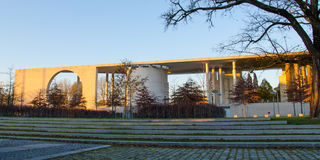 Bundeskanzleramt (chancelaria federal) Imagem de Stock Royalty Free