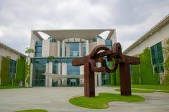 Bundeskanzleramt - federacyjny chancellerey w Berlin, Germany/ zdjęcie royalty free
