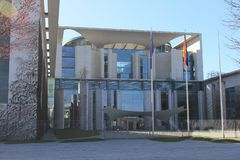 Federal Chancellery  Berlin Deutschland Germany. The Federal Chancellery in Berlin is the official seat and residence of the Chancellor of Germany as well as stock image