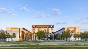 The Bundeskanzleramt (German for Federal Chancellery)  in sunris Royalty Free Stock Photography