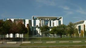 Bundeskanzleramt / Kanzleramt / Chancellery Berlin. Establishing shot of the German Bundeskanzleramt / Kanzleramt / Chancellery, the seat of the German stock video