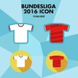 Bundesliga Football Club Icon Royalty Free Stock Photography