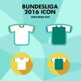 Bundesliga Football Club Icon Royalty Free Stock Images