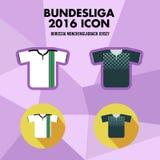 Bundesliga Football Club Icon Stock Photo