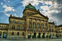 Bundespalast HDR Stockbilder
