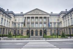 Bundesparlament in Brüssel, Belgien lizenzfreies stockfoto