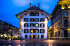 Bundesplatz, Bern Stock Photo