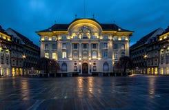 Bundesplatz, Bern, Switzerland Royalty Free Stock Photo