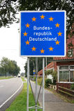 Bundesrepublik Deutschland Stock Image