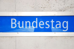 Bundestag Stock Photography