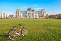 Bundestag Stock Photo