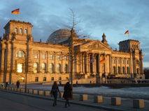 bundestag Foto de Stock Royalty Free