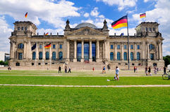 Bundestag, Alemanha Foto de Stock