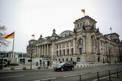 Bundestag in Berlijn royalty-vrije stock fotografie
