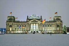 Bundestag in Berlijn, Duitsland Stock Fotografie
