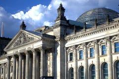 Bundestag, Berlijn, Duitsland Royalty-vrije Stock Afbeeldingen