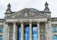 Bundestag in Berlijn, Duitsland stock foto