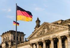 Bundestag Berlim Fotografia de Stock