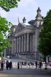 Bundestag in Berlin Stock Image