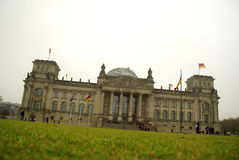 Bundestag Berlin Royalty Free Stock Photo