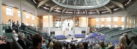 The Bundestag Stock Photography