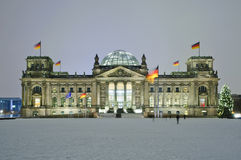 Bundestag à Berlin, Allemagne Photographie stock