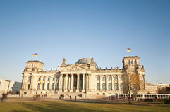 The Bundestag at Berlin, Germany Stock Photo