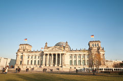 The Bundestag at Berlin, Germany Stock Images