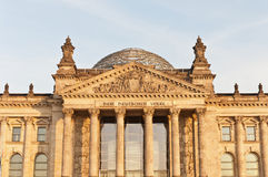 The Bundestag at Berlin, Germany Royalty Free Stock Images