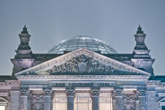 The Bundestag at Berlin, Germany Royalty Free Stock Photo
