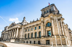 Bundestag in Berlin, Germany Royalty Free Stock Photography