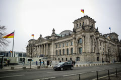 Bundestag in Berlin Royalty Free Stock Photography