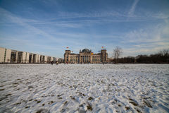 Bundestag in berlin Royalty Free Stock Photos