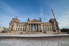Bundestag in berlin Royalty Free Stock Photo