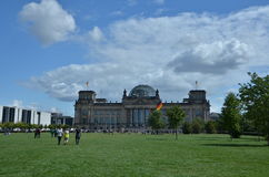 Bundestag a Berlino Fotografie Stock Libere da Diritti