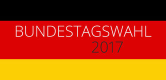Bundestag election 2017 germany Stock Photos